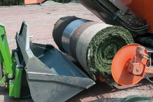 6 - Rouleaux de gazon et recyclage